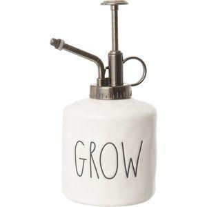 """Rae Dunn Grow Ceramic Mister - 6.5"""""""